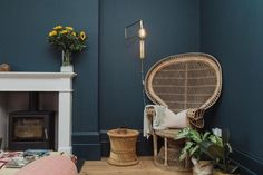 Originally built in 1899 as a boarding house for Revenue & Customs to house their officers, it was later sold on as a bed and breakfast and has been run as such ever since. Owner Freyja Ducker has masterfully renovated it into the boutique townhouse it is today, styling the house using her own vision where simplicity of style meets modern comfort. Boarding House, Bed And Breakfast, Hanging Chair, Townhouse, Building, Modern, Furniture, England, Boutique