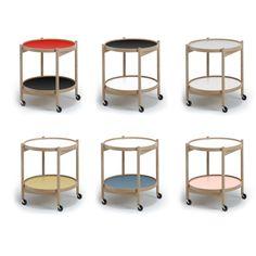 Brdr. Krüger - Brickbord Arkitekten Hans Bølling skissade 1963 fram det geniala och flexibla brickbordet med två vändbara brickor