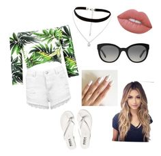 """""""Untitled #57"""" by cowther-alhagar on Polyvore featuring Miss Selfridge, New Look, Lime Crime and Burberry"""