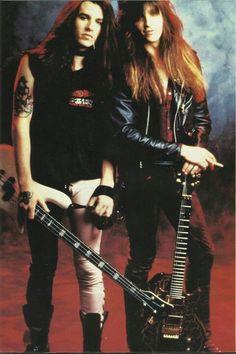 Rachel Bolan  &  Snake Sabo