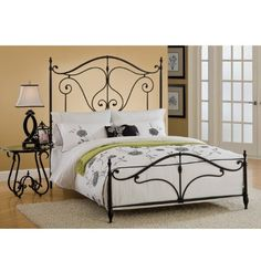 Hillsdale 1013BFR Caffrey Bed Set - Full - with Rails