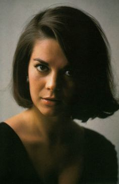 Natalie Wood. Yes? I'm sorry I interrupted you; you were saying?