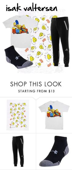 """""""isak valtersen/ skam"""" by thedeernicole on Polyvore featuring Bazartherapy, adidas, Under Armour, men's fashion e menswear"""