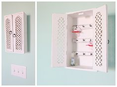 Jewelry holder for pacis! A little girl can use for jewelry when older, and a little boy could use for bowties!