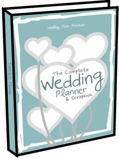 Personalised Wedding Planner Binder Folder By WeddingToolzStore