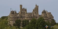 castelos mais bonitos da França  chateau de pierrefonds