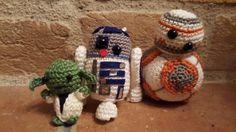 Star Wars Star Wars, Christmas Ornaments, Stars, Holiday Decor, Home Decor, Amigurumi, Homemade Home Decor, Starwars, Christmas Jewelry