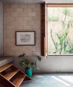 ทาวน์เฮ้าส์สามชั้น - สไตล์ลอฟท์บรรยากาศอบอุ่นโดย Ambrosi Etchegaray | Pinperty.com