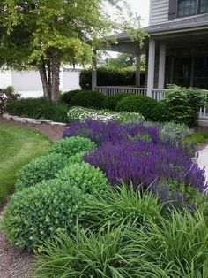Cheap landscaping ideas for your front yard that will inspire you (4) #LandscapingIdeas #landscapingideasforfrontyard #landscapedesign