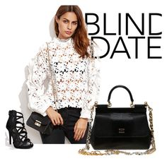 """""""Blind date"""" by karmen-mv ❤ liked on Polyvore featuring Dolce&Gabbana"""