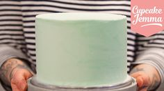 Masterclass: How to Decorate a Layer Cake with Smooth Buttercream Icing ...