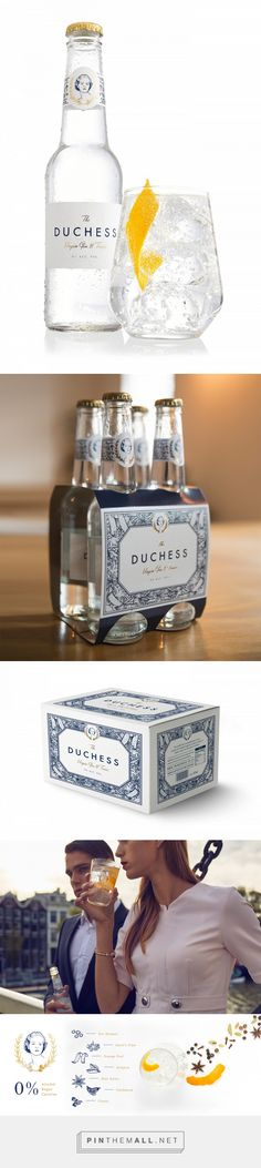 The Duchess Virgin Gin and Tonic Packaging by Fanakalo | Fivestar Branding Agency – Design and Branding Agency & Curated Inspiration Gallery