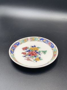 Lenox plates Vintage vanity trays porcelain plates trinket dishes pretty dishes small floral vanity trays vintage dishes collectible dishes