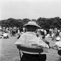 Hyde Park, London (1953) by Cas Oorthuys