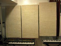 "DIY ""frameless"" acoustic panels / sound absorbing panels Gearslutz.com"