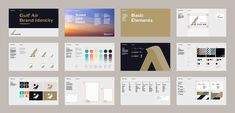 New Logo, Identity, and Livery for Gulf Air by Saffron