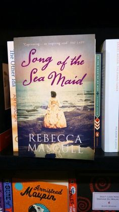 Sea Maid spotted in the wild by lovely author Louise Walters in Waterstones Oxford.