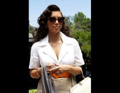 Kim Kardashian shoots new fragrance commercial ... and looks like Sophia Loren!