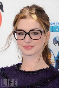 Anne Hathaway. - Lookmatic's trendy, fully-customizable and sensibly priced eyewear lets you look your best and inspires you to do more good. Now that's #LookmaticGOOD