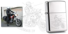 #zippo #custom #engraving #lighter #personalised #gift #bestman #gravur #gravurshop #geschenkidee #gifts #gravieren  Zippo lighter with engraving of your favorit motorbike picture! - Zippo Feuerzeug mit Motorrad Gravur als super Geschenkidee für Motorrad Fans