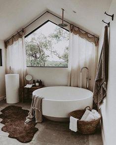 Home Interior Modern .Home Interior Modern Boho Bathroom, Bathroom Interior, Bathroom Ideas, Bathroom Remodeling, Remodeling Ideas, Bathroom Organization, Remodel Bathroom, Small Bathroom, Bathtub Ideas