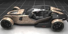 GMC Hotrod concept is outrageously hot - Auto Chunk Go Kart Buggy, Tube Chassis, Reverse Trike, Futuristic Cars, Sweet Cars, Kit Cars, General Motors, Automotive Design, Electric Cars