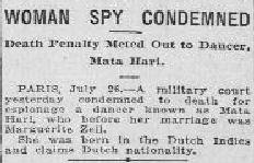Uit de Morning Oregonian van 27 juli 1917