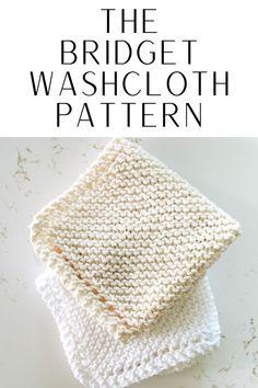 Knitted Dishcloth Patterns Free, Knitted Washcloths, Knit Dishcloth, Easy Knitting Patterns, Knitting Stitches, Knitting Projects, Crochet Scrubbies, Bamboo Knitting Needles, Knitting Basics