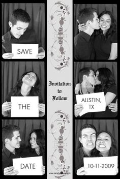 16 Ways to Save the Date! http://bit.ly/14dOZhi #photostrip #weddings #save #the #date