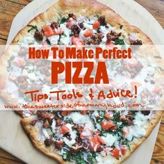 How to make perfect,