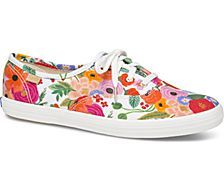 e04277c1d2 Keds x Rifle Paper Co. Champion Garden Party, White Multi Champion Sneakers,  Floral