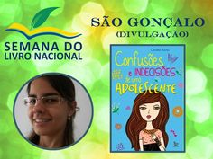 Escritora Caroline Rocha na feirinha literária da Semana do Livro Nacional em São Gonçalo! Não percam!