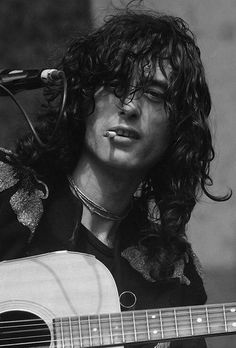 Jimmy Page guitar legend.