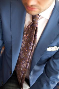 just wonderful tie, and the combination! Sharp Dressed Man, Well Dressed Men, Groomsmen Grey, Paisley Tie, Suit And Tie, Hugo Boss, Men Dress, Gentleman, Dapper