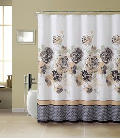 With Love Home Decor - Shower Curtain-13pc with Rollerball Hook -Tabitha Set, $15.99 (http://www.withlovehomedecor.com/products/shower-curtain-13pc-with-rollerball-hook-tabitha-set.html)
