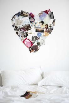 Alternative wall decoration - how could you help people collect their photos and memories in one place?