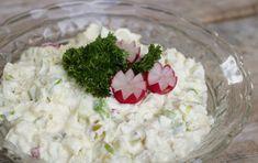 Lett og god potetsalat - LINDASTUHAUG Grains, Food And Drink, Rice, Homemade, Dinner, Board, Dining, Home Made, Food Dinners