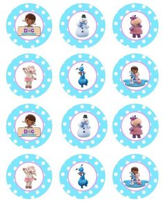 Cupcake Diaries - From cupcakes to crock pots and everything in between! Doc Mcstuffins Cupcakes, Doc Mcstuffins Birthday Party, 4th Birthday Parties, Birthday Fun, Frozen Birthday, Birthday Ideas, Cupcake Diaries, Party Time, Prints