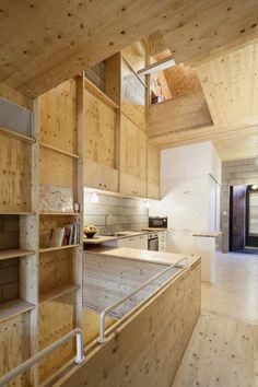 Vista interior. Vivienda en Sant Cugat del Vallès por Josep Ferrando. Fotografía © Adrià Goula.