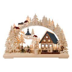 traditional german christmas decoration omg omg omg i love the wood schwibbogen sadly this one is