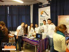Stand en el Workshop de turismo. Alumnos de 2do. año