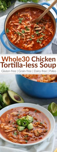 Chicken Tortilla-les