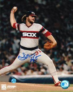 Autographed Lamarr Hoyt Chicago White Sox 8x10 Photo