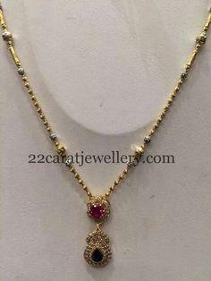 Jewellery Designs: Simple Gold Set for Kurthis Gold Earrings Designs, Gold Jewellery Design, Necklace Designs, Gold Necklace Simple, Gold Jewelry Simple, Ruby Necklace, Pendant Jewelry, Beaded Jewelry, Diamond Jewelry