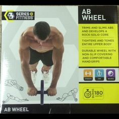 Abdominal Wheel Trims and slims abs, tightens and tones upper body Other