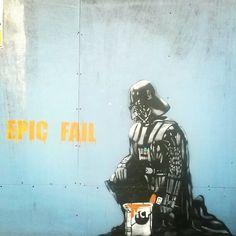 Star wars street art #epicfail