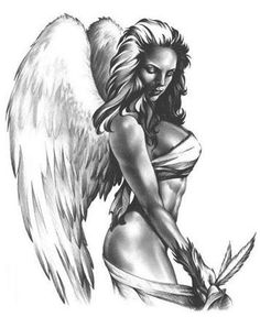 Значения татуировок ангелов.