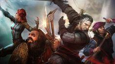 The Witcher: Adventure Game выйдет на iPad | CD Project RED анонсировали скорый выход игры по мотивам The Witcher для мобильных устройств на iOS #TheWitcher