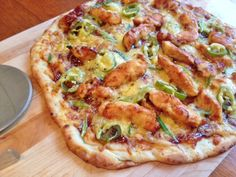 Gluten Free BBQ Chicken Pizza (use olive oil instead of veg oil and add your favorite healthy BBQ sauce)