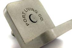 Custom Engraved Concrete Business Card Holder. by Zeitgeistfactory, $69.00